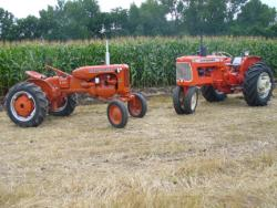 "2010 Featured Attraction: Allis-Chalmers Proudly Hosted the ""Gathering of the Orange"""