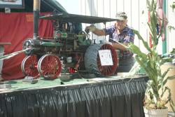 Scale Model Case Steam Tractor
